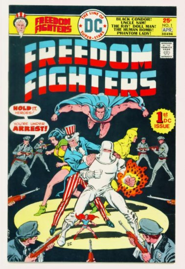 FREEDOM FIGHTERS #1 DC Comics 1976 Very Fine