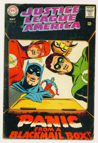 JUSTICE LEAGUE of AMERICA #62 DC Comics 1968