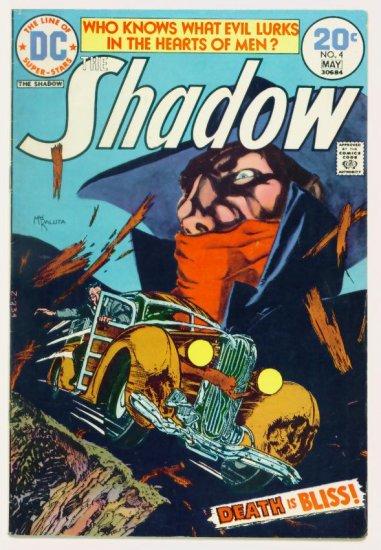 The SHADOW #4 DC Comics 1974 Mike Kaluta