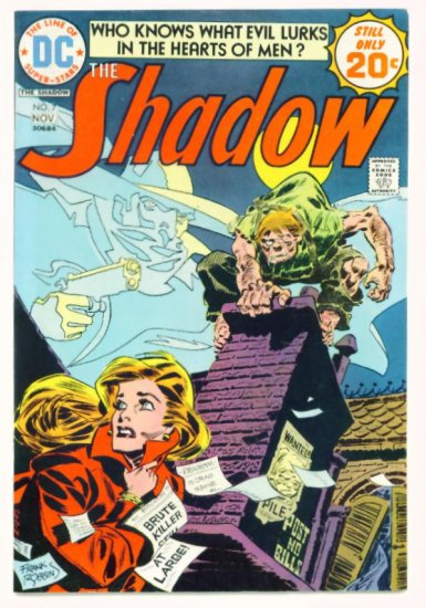 The SHADOW #7 DC Comics 1974 Frank Robbins FINE +
