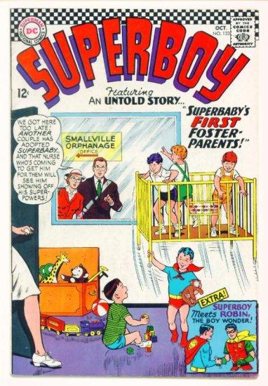 SUPERBOY #133 DC Comics 1966 Superboy Meets Robin
