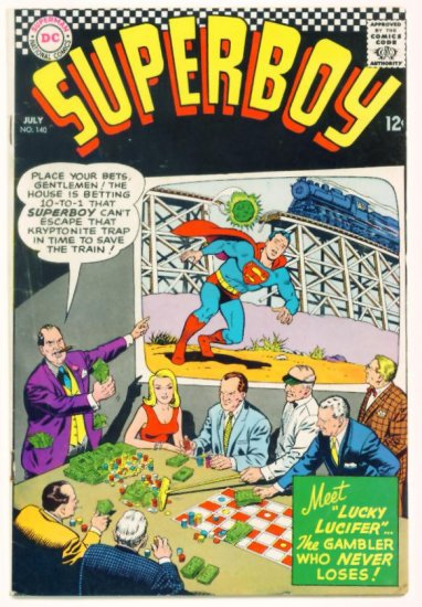 SUPERBOY #140 DC Comics 1967