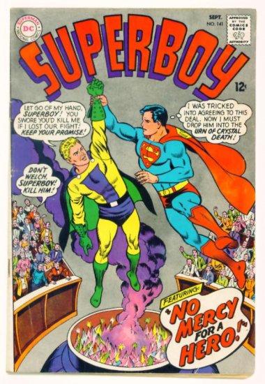 SUPERBOY #141 DC Comics 1967