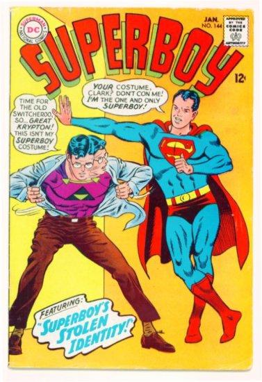 SUPERBOY #144 DC Comics 1968