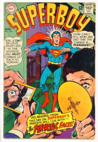 SUPERBOY #145 DC Comics 1968