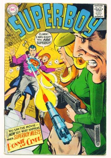 SUPERBOY #149 DC Comics 1968