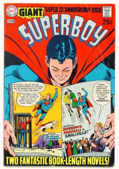 SUPERBOY #156 DC Comics 1969 GIANT G-59