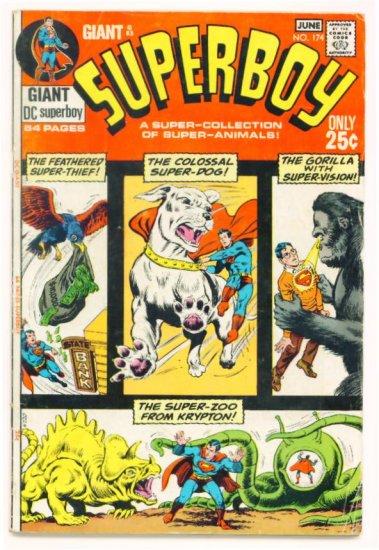 SUPERBOY #174 DC Comics 1971 64 Page GIANT G-83