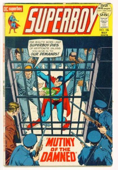 SUPERBOY #186 DC Comics 1972 GIANT