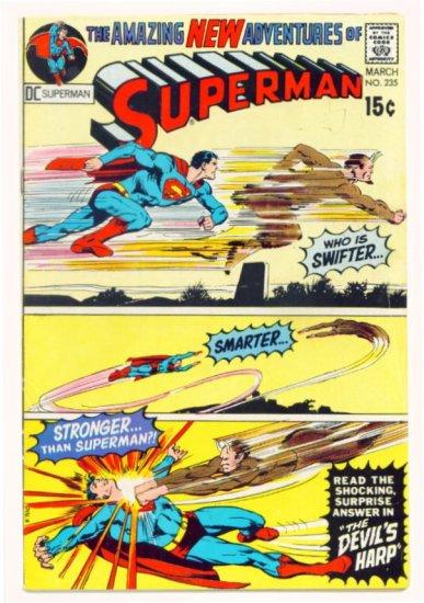 SUPERMAN #235 DC Comics 1971