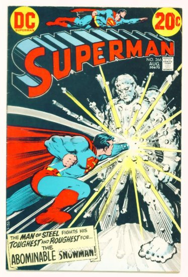 SUPERMAN #266 DC Comics 1973 Fabulous World of Krypton