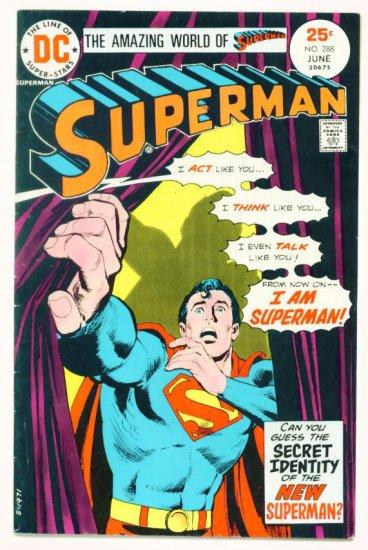 SUPERMAN #288 DC Comics 1975