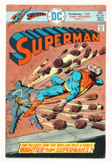 SUPERMAN #291 DC Comics 1975