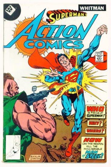 ACTION COMICS #486 1978 Whitman Variant Superman
