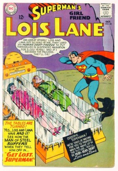 LOIS LANE #60 DC Comics 1965 Superman Lana Lang
