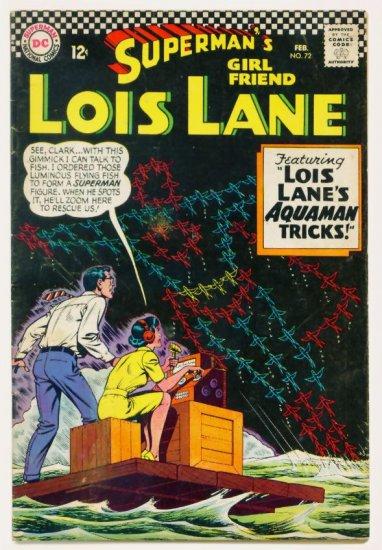 LOIS LANE #72 DC Comics 1967 Superman