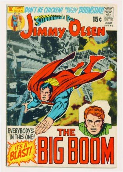 Superman JIMMY OLSEN #138 DC Comics 1971 Jack Kirby GIANT