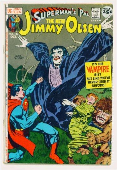 Supermans Pal JIMMY OLSEN #142 DC Comics 1971 Jack Kirby GIANT