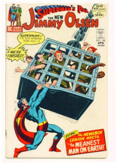 Supermans Pal JIMMY OLSEN #148 DC Comics 1972 Jack Kirby GIANT