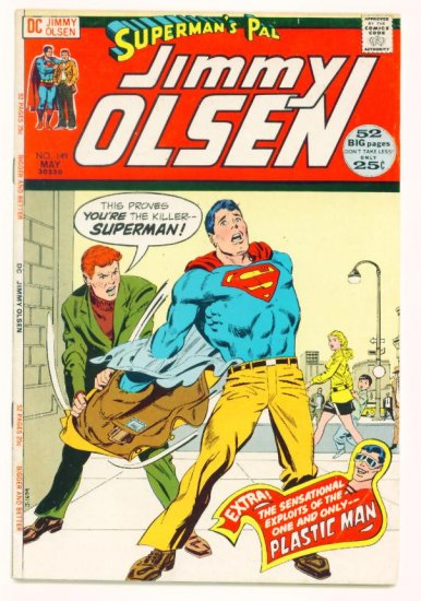 Supermans Pal JIMMY OLSEN #149 DC Comics 1972 Jack Kirby GIANT