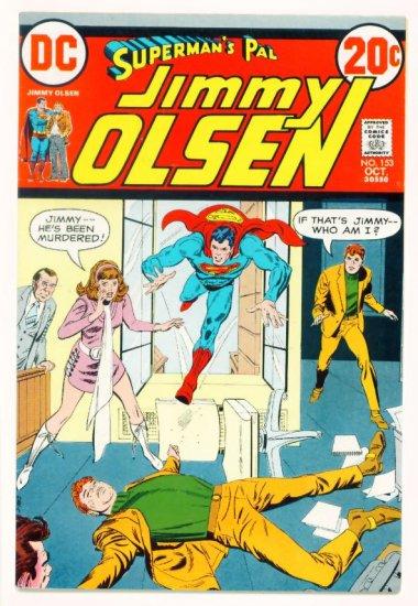Supermans Pal JIMMY OLSEN #153 DC Comics 1972 Very Fine