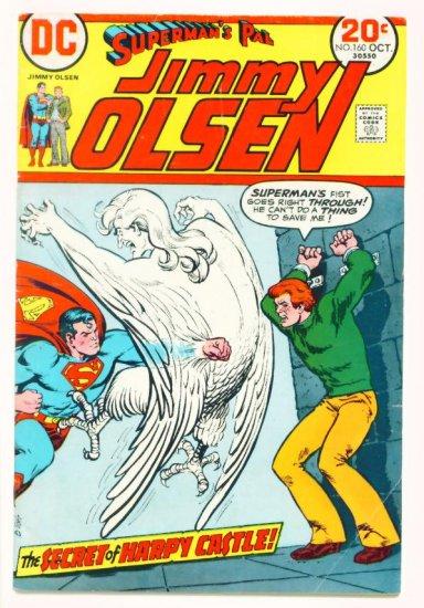 JIMMY OLSEN #160 DC Comics 1973 Superman's Pal