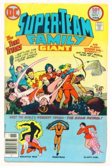 SUPER-TEAM FAMILY #7 DC Comics 1976 Teen Titans
