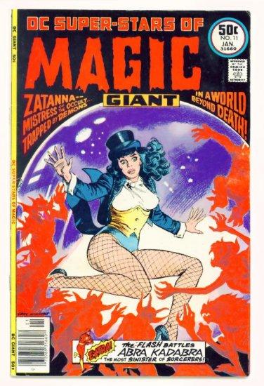 ZATANNA the MAGICIAN DC SUPER-STARS #11 DC Comics 1977