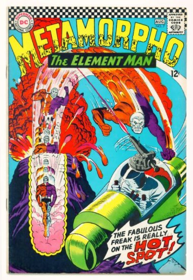 METAMORPHO #7 DC Comics 1966