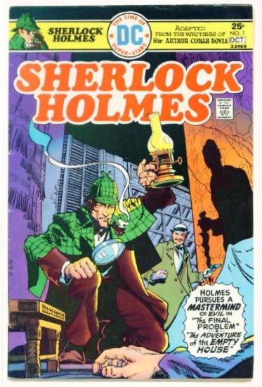SHERLOCK HOLMES #1 DC Comics 1975