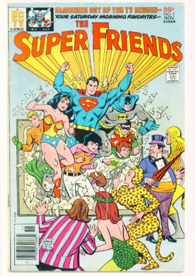 SUPER FRIENDS #1 DC COMICS 1979 Wonder Woman Batman