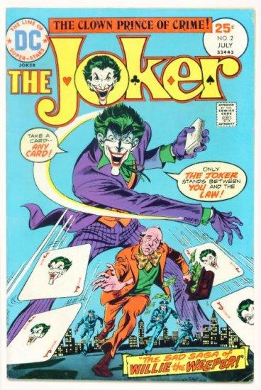 The JOKER #2 DC Comics 1975