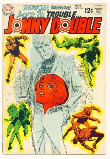 Jonny Double SHOWCASE #78 DC Comics 1968 1st Appearance