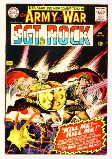 Sgt Rock OUR ARMY AT WAR #163 DC Comics 1966 Viking Prince