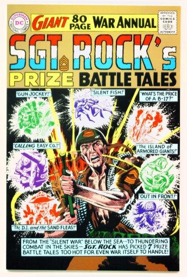 SGT ROCK PRIZE BATTLE TALES 80 PAGE GIANT Replica Edition DC Comics 2000