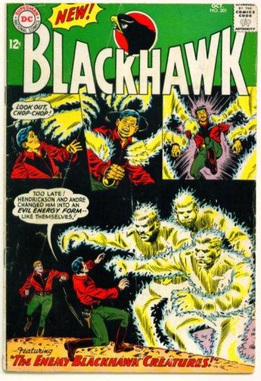BLACKHAWK #201 DC Comics 1964