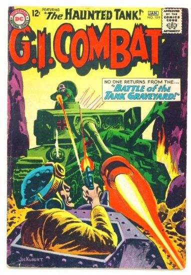 Haunted Tank G.I. COMBAT #109 DC Comics 1965