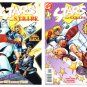 STARS and STRIPE #0 and #1 DC Comics 1999