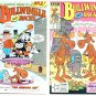 ROCKY and BULLWINKLE #1 and #2 Lot Marvel Star Comics 1988
