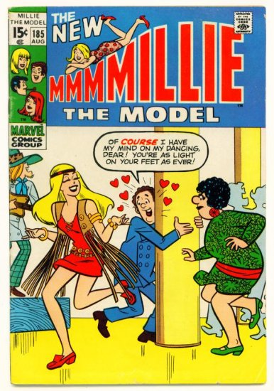 MILLIE the MODEL #185 Marvel Comics 1970