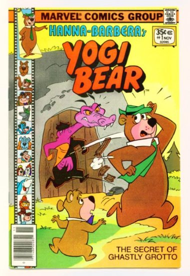 YOGI BEAR #1 Marvel Comics 1977 Hanna-Barbera FINE
