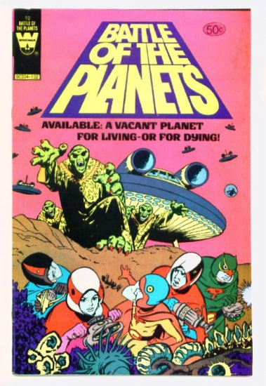 BATTLE of the PLANETS #10 Whitman Comics 1980 LAST ISSUE