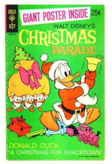 WALT DISNEY CHRISTMAS PARADE #8 Gold Key Comics 1970