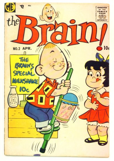 The BRAIN #2 ME Comics 1957 Dan DeCarlo