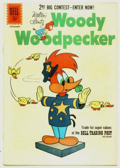 WOODY WOODPECKER #68 Dell Comics 1961