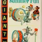 TOM and JERRY SUMMER FUN Dell Comics 1957 DELL GIANT #4