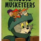TOM and JERRY MOUSE MUSKETEERS #21 Dell Comics 1960
