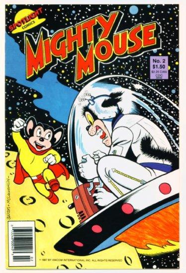 MIGHTY MOUSE #2 Spotlight Comics 1987
