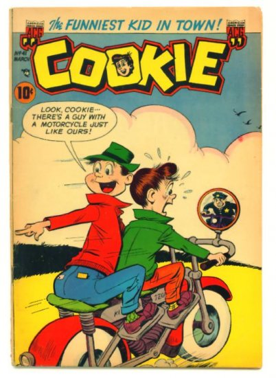 COOKIE #41 ACG Comics 1953 Dime Comic