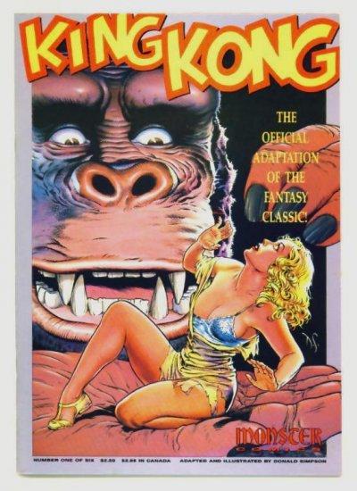 Dave Stevens KING KONG #1 Monster Comics 1991 NM